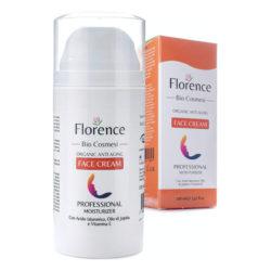 Florence - Bio Crema Hidratante facial con Ácido Hialurónico