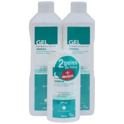 Geles Inibsa - Gel de ducha para el cuidado de la piel y el cabello