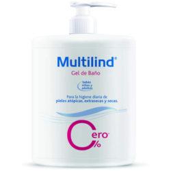 Multilind Gel de baño hipoalergénico para pieles atópicas, secas y extrasecas