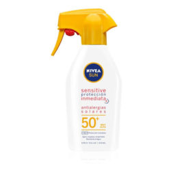 NIVEA SUN Sensitive Protección Inmediata Antialergias Solares Spray Pistola Solar FP 50