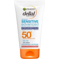 Garnier delial sensitive advancer crema solar cara