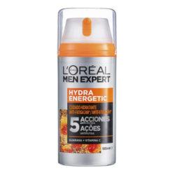 lOreal Men Expert Crema Hidratante Anti-Fatiga 24h Hydra Energetic Para Hombres